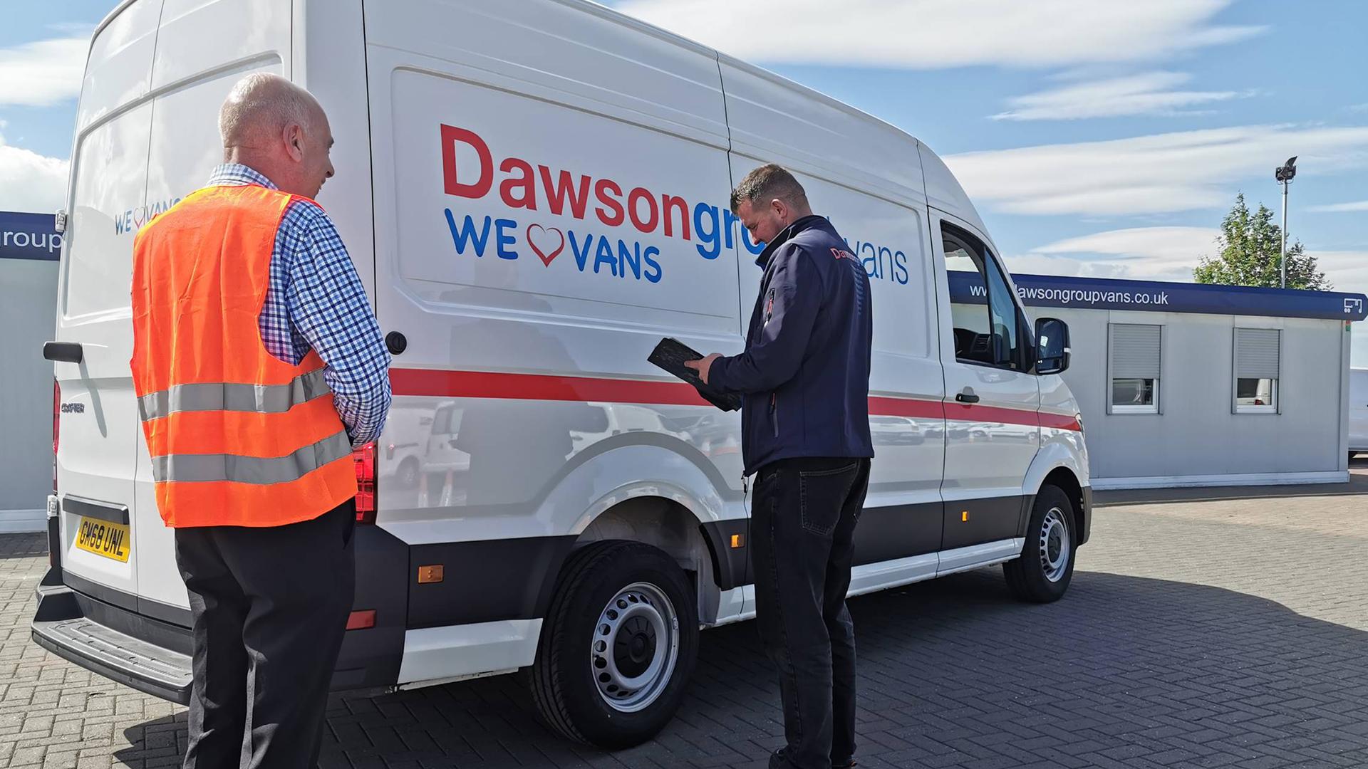 Business Van Leasing | Dawsongroup Finance